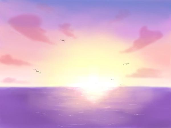 明石海峡大橋に沈む綺麗な夕日を皆さんで見ましょう
